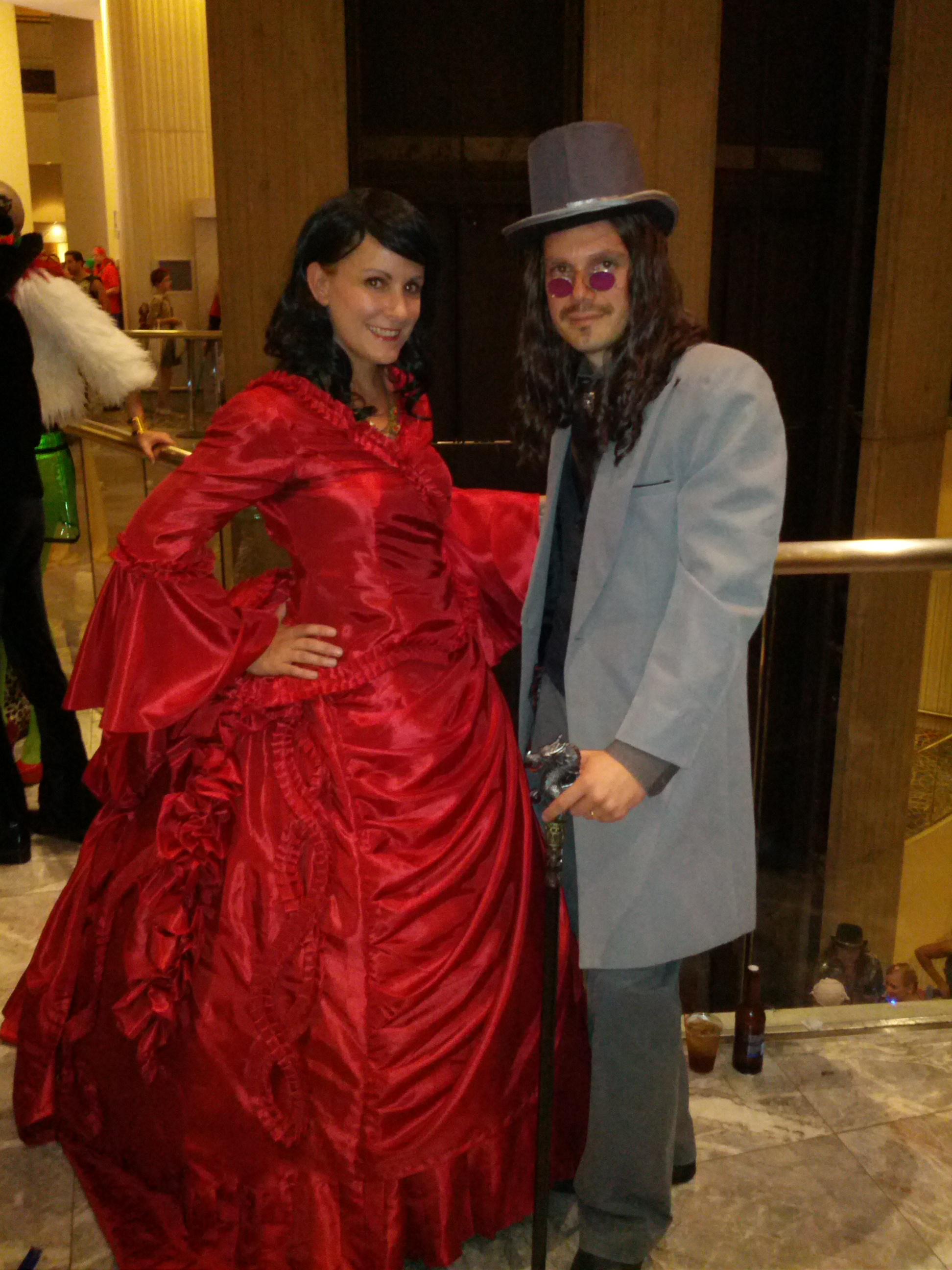 Mina and Dracula
